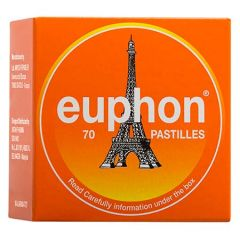 EUPHON PASTILLES 70S - FOR RELIEF OF SORE THROAT