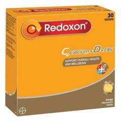 REDOXON EFFERVESCENT C + CALCIUM D3 + B6 10SX3