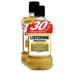 LISTERINE ORIGINAL 750ML X 2