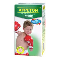 APPETON MULTIVITAMIN LYSINE WITH PREBIOTICS CHEWABLE TABLET 60S