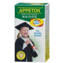 APPETON MULTIVITAMIN Hi-Q TAURINE WITH DHA CHEWABLE TABLET 60S