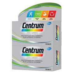 CENTRUM SILVER MULTIVITAMIN 100S X 2