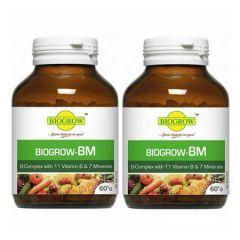 BIOGROW BIOGROW-BM B-COMPLEX 60S X 2