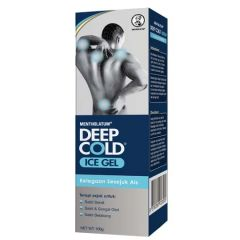 MENTHOLATUM DEEP COLD ICE GEL THERAPY 100G