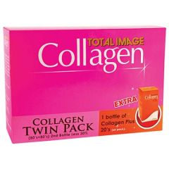 TOTAL IMAGE COLLAGEN TWIN PACK 80SX2+FREE COLLAGEN PLUS 20S