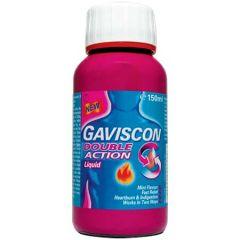 GAVISCON DOUBLE ACTION LIQUID ANTACID 150ML