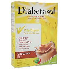 DIABETASOL NUTRITION FOR DIABETIC CHOCOLATE FLAVOUR 180G