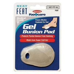 NEAT FEAT GEL BUNION PAD 1 PAIR