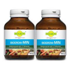 BIOGROW BIOGROW-MIN MULTIMINERALS 60S X 2