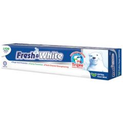 FRESH & WHITE EXTRA COOL MINT TOOTHPASTE 160G