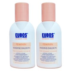 EUBOS FEMININ WASHING EMULSION TRIAL PACK 30ML X 2