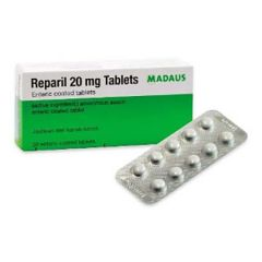 REPARIL 20MG 10T X 5
