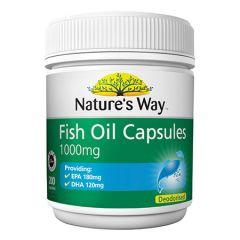 NATURES WAY FISH OIL 1000MG 200S