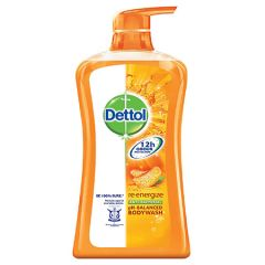 DETTOL RE-ENERGIZE ACTI-BACTERIAL BODY WASH 950ML + G