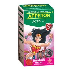 APPETON ACTIV-C VITAMIN C 100MG (STRAWBERRY) CHEWABLE TABLET 60S