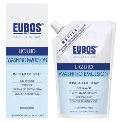EUBOS LIQUID WASHING EMULSION FRAGRANCE-FREE 400ML + 400ML