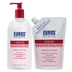 EUBOS LIQUID WASHING EMULSION 400ML + 400ML