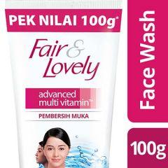 FAIR & LOVELY ADVANCED MULTI VITAMIN FACE WASH 100G