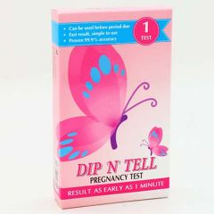 DIP N TELL PREGNANCY TEST 1S