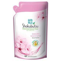SHOKUBUTSU SAKURA WHITENING REFILL 550G