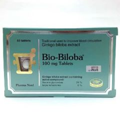 BIO-BILOBA GINKGO BILOBA EXTRACT 100MG TABLET 60S