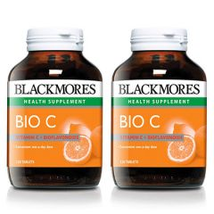 BLACKMORES BIO C 1000MG TABLET 120S X 2
