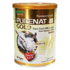 BONLIFE PURENAT GOLD PURE GOAT MILK P0WDER 400G