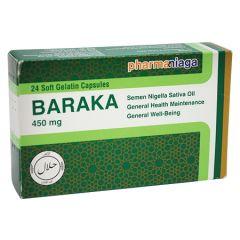 BARAKA HABBATUSSAUDA 450MG CAPSULE 24S
