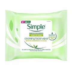 SIMPLE FACIAL CLEANSING WIPE 7S