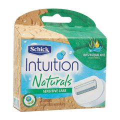 SCHICK INTUITION NATURAL REFILL 3S