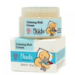 BUDS BABY SOOTHING CALMING RUB CREAM 30ML