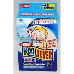 KOOLFEVER CHILDREN FEVER COOLING GEL FOR BODY 14S