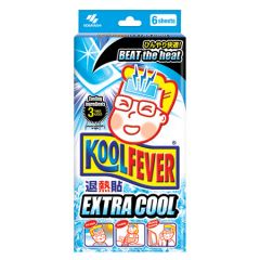 KOOLFEVER ADULT EXTRA COOL FEVER COOLING GEL 6S