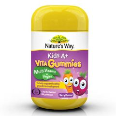 NATURE'S WAY KIDS A+ VITA GUMMIES 60'S