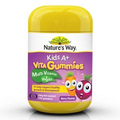 NATURE'S WAY KIDS A+ VITA GUMMIES 120'S