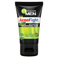 GARNIER MEN ACNO FIGHT WASABI ANTI-BACTERIA BRIGHTENING FOAM 100ML