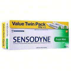 SENSODYNE FRESH MINT 100G X 2