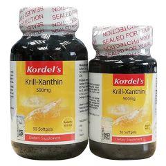 KORDELS KRILL-XANTHIN 500MG SOFTGEL 90S + 30S