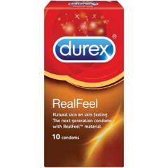 DUREX REAL FEEL CONDOM 10S