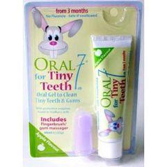 ORAL7 TINY TEETH GEL T.PST & FGRBRSH