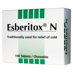 ESBERITOX N FOR RELIEF OF COLD TABLET 20S X 5