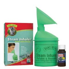 EUKY BEAR INHALER COMBO (INHALANT 25ML + STEAM INHALER)