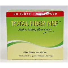 TOTAL FIBER NSF(NO SUGAR NO FLAVOUR) 12G X 15S