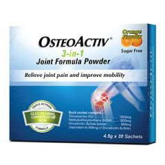 OSTEOACTIV 3-IN-1 JOINT FORMULA POWDER 4.5G X 30S