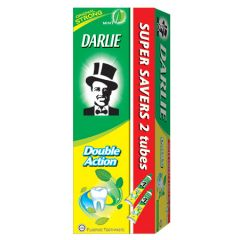 DARLIE DOUBLE ACTION ORIGINAL STRONG MINT TOOTHPASTE 225G X 2