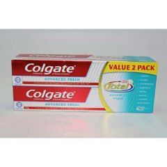 COLGATE TOTAL ADVANCED FRESH TOOTHPASTE 150G X 2