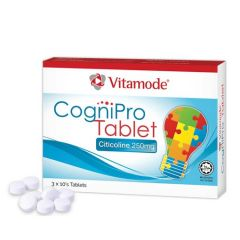 VITAMODE COGNIPRO CITICOLINE 250MG TABLET 10S x 3