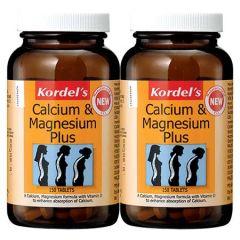 KORDELS CALCIUM & MAGNESIUM PLUS TABLET 150S X 2