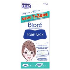 BIORE PORE PACK CLEANSING STRIP T-ZONE 10S