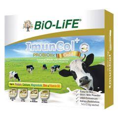 BiO-LiFE IMUNCOL+ PROBIOTIX GOLD SACHET 2.6G X 14S